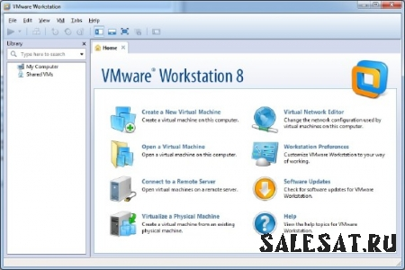 VMware Workstation 8.0.1 528992 x86+x64 (2011, ENG)